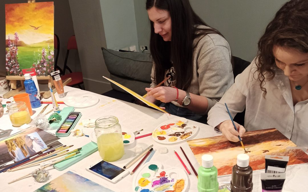 Ministry Through Art Workshops in Serbia