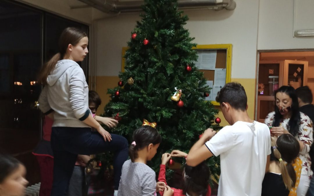 Christmas outreach during covid! -Bosnia Herzegovina