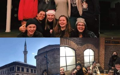 Winter DTS outreach in Serbia and North Macedonia.